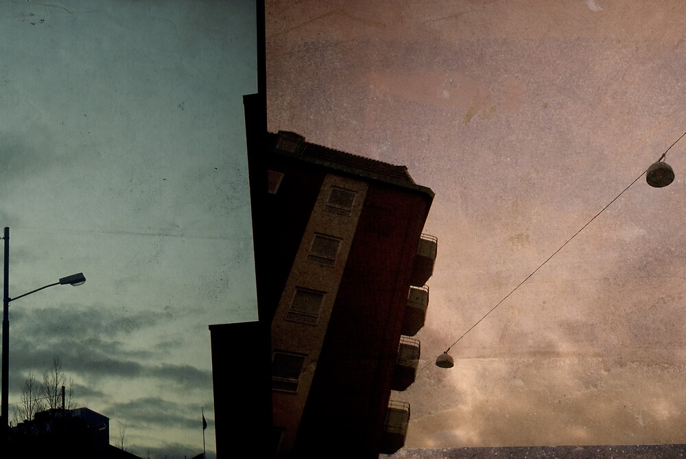 looking up at dusk - malmo by keatch