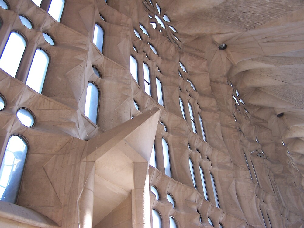 Inside the Sagrada Familia by Carrie Norberg