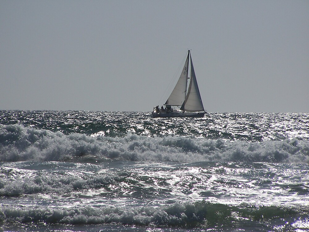 Sailboat by Carrie Norberg