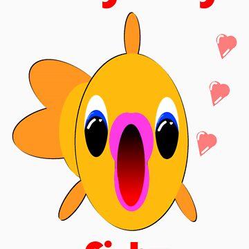 Kissy kissy fishy by EddyG