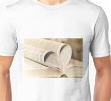 Pages of Love Unisex T-Shirt
