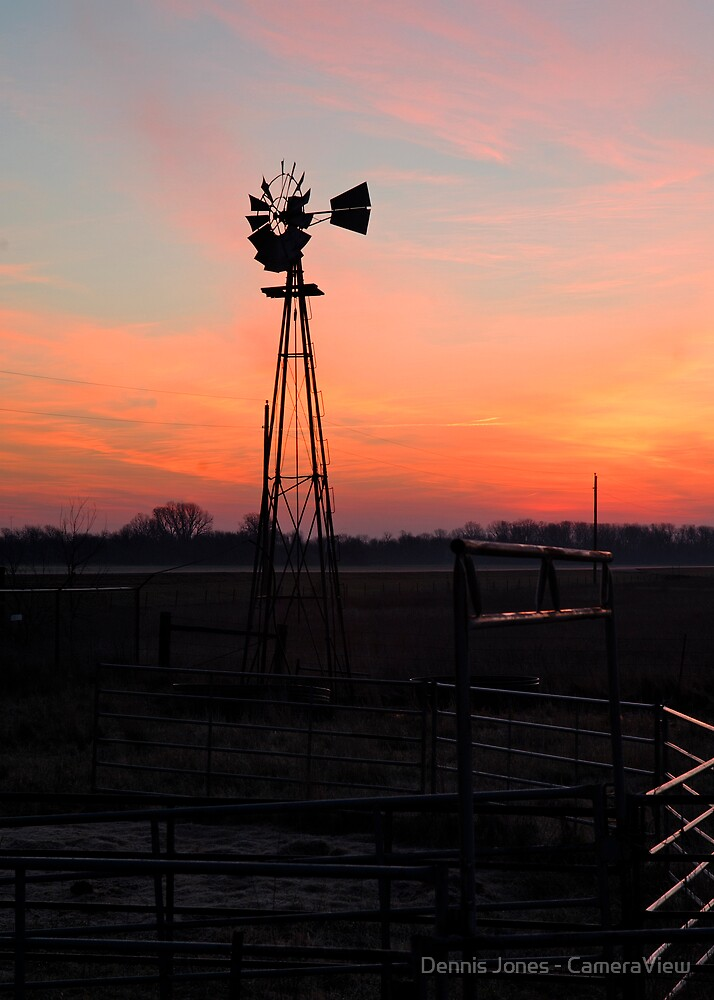 Sheridan Windmill by Dennis Jones - CameraView