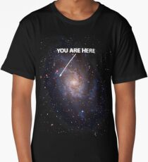 You Are Here Universe Galaxy Long T-Shirt
