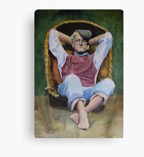 The Recliner Canvas Print