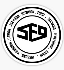 SF9 member Sticker
