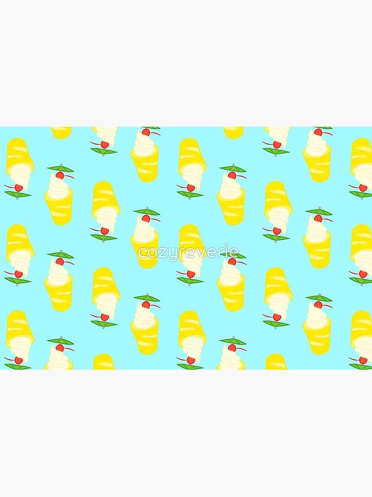 Summer Pineapple Float by cozyreverie