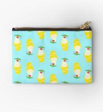 Summer Pineapple Float Zipper Pouch