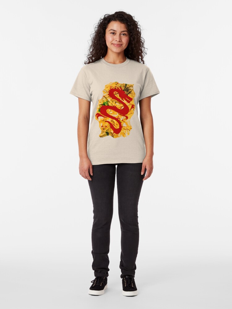 Alternate view of RED DRAGON Classic T-Shirt