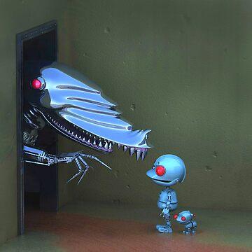 Robots by johnnyz
