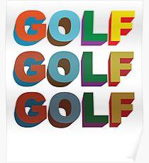 3D GOLF  Poster