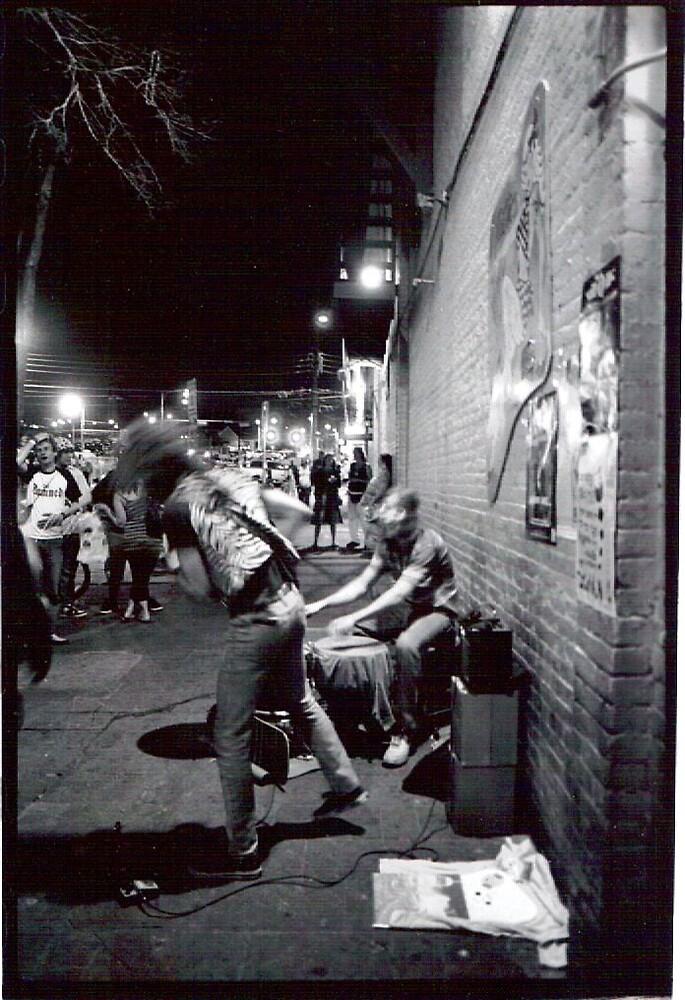 Corner Musicians by Megan Russell