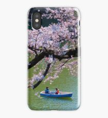 Boating Blossoms iPhone Case/Skin