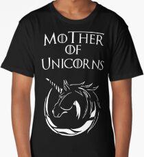 MK Mother of Unicorns (White) Long T-Shirt