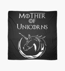 MK Mother of Unicorns (White) Scarf