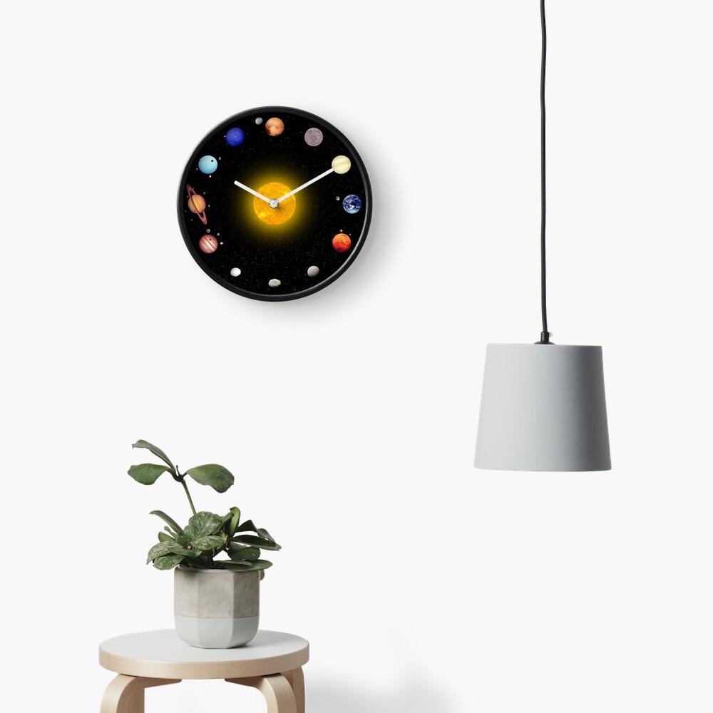 Space Pattern Clock