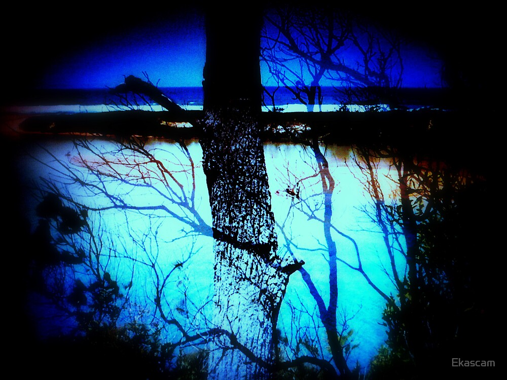 SCENERY OF BLUE by Ekascam