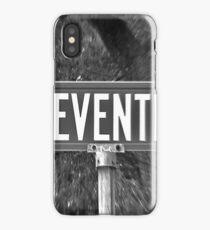 Eleventh Av Street Sign iPhone Case/Skin