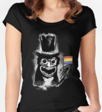 The B stands for Babadook Women's Fitted Scoop T-Shirt