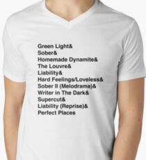 Camiseta para hombre de cuello en v MELODRAMA por Lorde