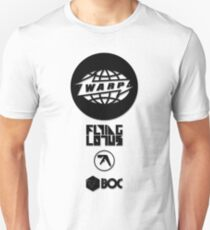 Warp Records - Aphex Twin, Flying Lotus, Boards of Canada T-Shirt
