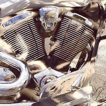 Harley Engine #1 by artepunk