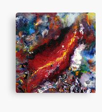 The Wounded Canvas Print
