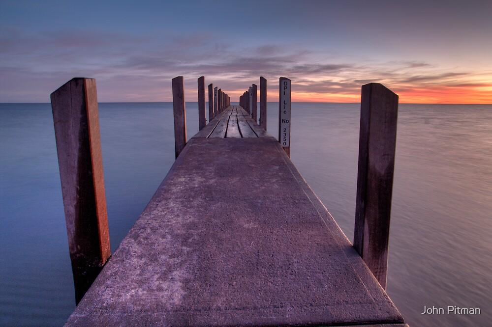 Pier-ing Down by John Pitman