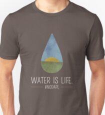 Water Is Life #NoDAPL Unisex T-Shirt