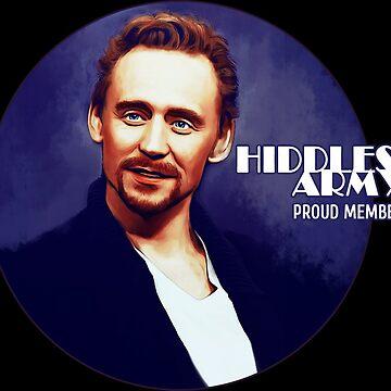 Tom Hiddleston by olgapanteleyeva