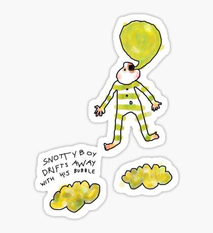 'Snotty Boy Bubbles' Sticker