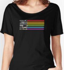 Lightsaber Rainbow Women's Relaxed Fit T-Shirt