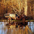 Antique Fire Engine by Jelderkc