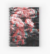 Flower shift Spiral Notebook