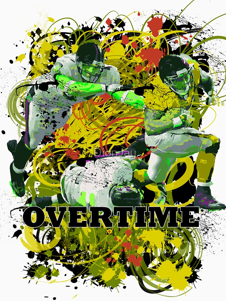 OVERTIME (RECIEVER) YELLOW by DionJay