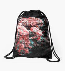 Flower shift Drawstring Bag