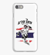 Born To Fight - Skull  iPhone Case/Skin