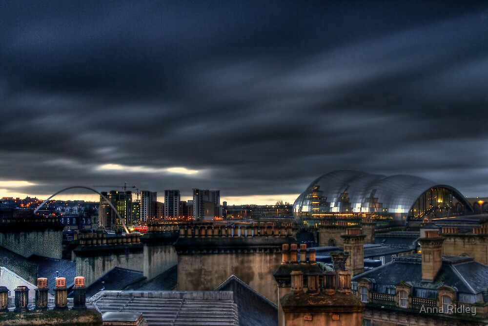 Over the Chimney Pots by Anna Ridley