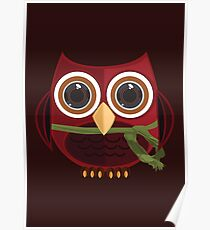 The Red Owl - Large Poster