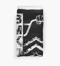 Bmx Bars Abstract Graphic Gift for Bmx Riders Duvet Cover