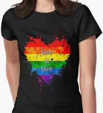 Love is love Women's Fitted T-Shirt