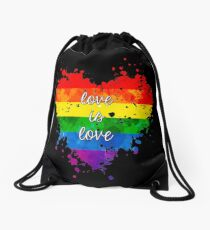 Love is love Drawstring Bag