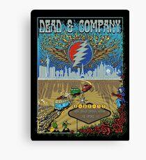 dead company may 27th 2017 MGM Grand Garden Arena Las Vegas NV  Canvas Print