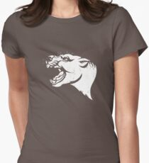 Thylacoleo stencil Womens Fitted T-Shirt