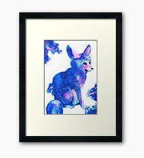 Clever Galaxy Framed Print