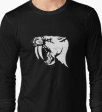 saber tooth cat stencil T-Shirt