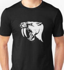 saber tooth cat stencil Unisex T-Shirt