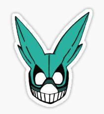 Deku's Mask - My Hero Academy Sticker