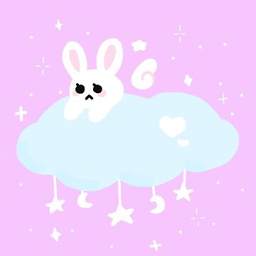 cute kawaii star bunny by kenmaru