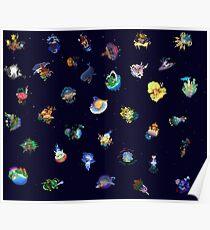 Kingdom Hearts Worlds Poster