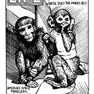 «Able & Baker, space monkeys» de Celeste Ciafarone